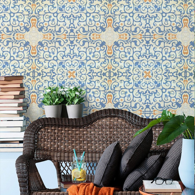 Tile style and mural makeovers