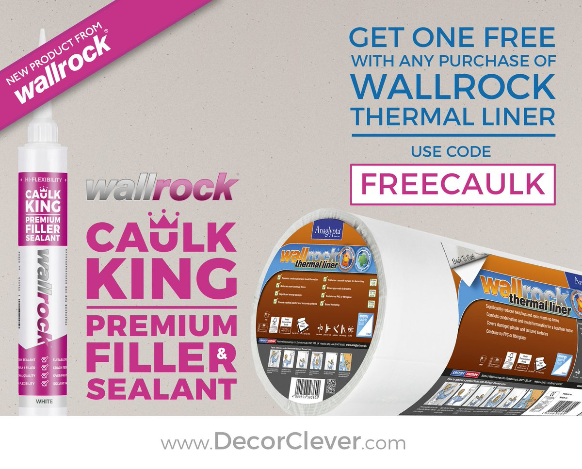 Wallrock Caulk King