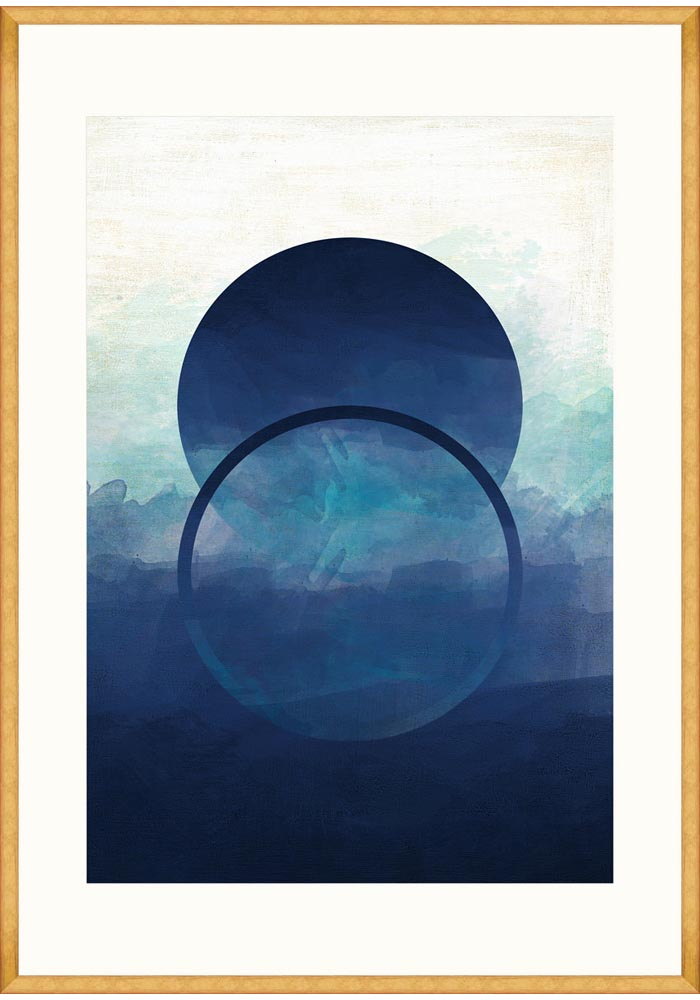 Abstract Ombre I Framed Art by Mind The Gap