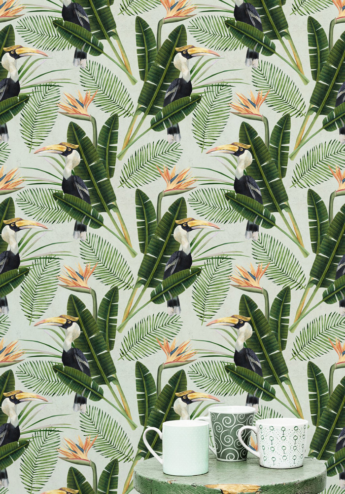 Birds Of Paradise Wallpaper By Mind The Gap
