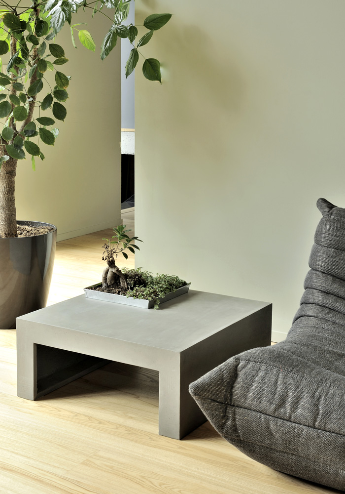 Green Square Coffee Table Lyon Beton Concrete