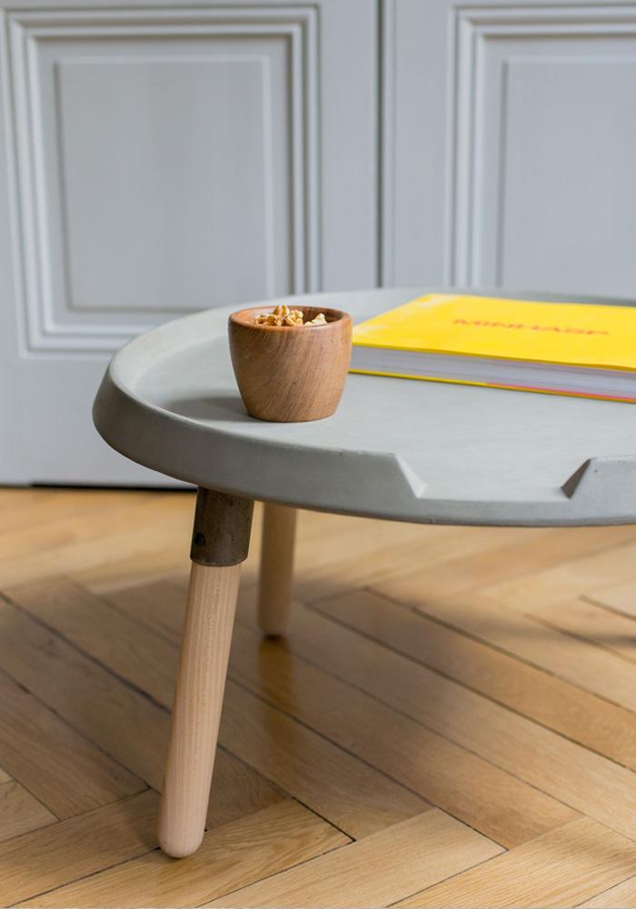 Mix Coffee Table Low Lyon Beton Concrete