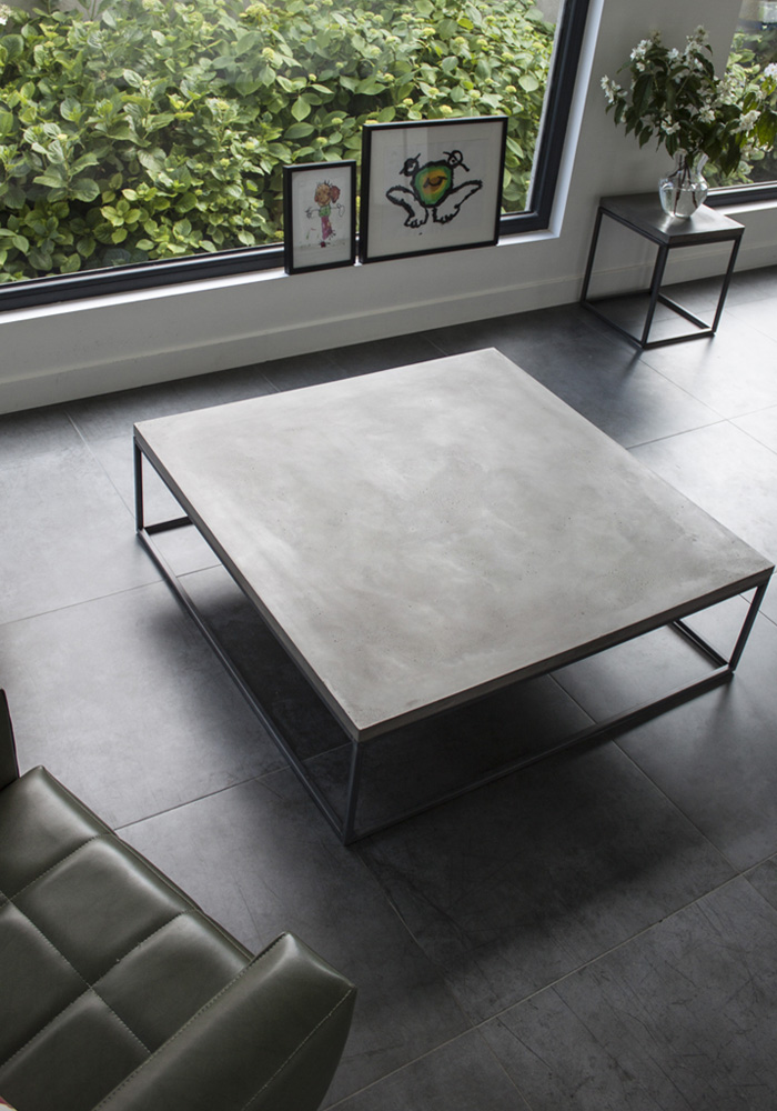 Perspective Coffee Table Xl Lyon Beton Concrete