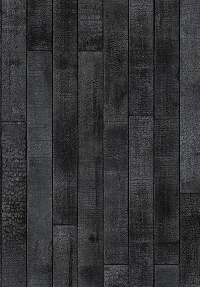 Phm 35 Burn Wood Material Wallpaper By Piet Hein Eek