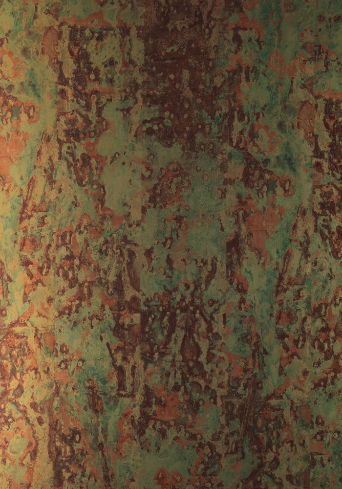 Phc 02 Spoiled Copper Metallic Wallpaper By Piet Hein Eek