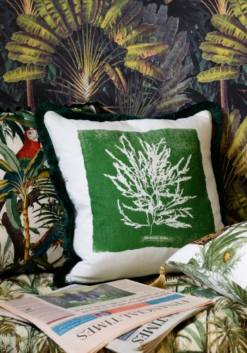 Algae I Cushion by Mind The Gap