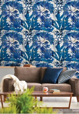 Algae in Blue Wallpaper by Mind The Gap