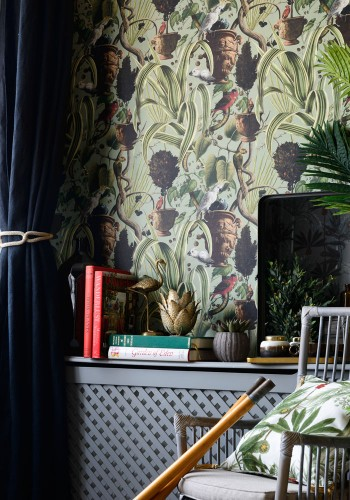 Exotic Menagerie Light Wallpaper by Mind The Gap