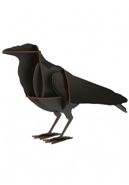 Edgar Raven Ornament - ibride