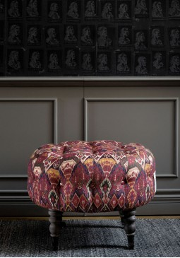 Fez Tufted Stool by Mind The Gap