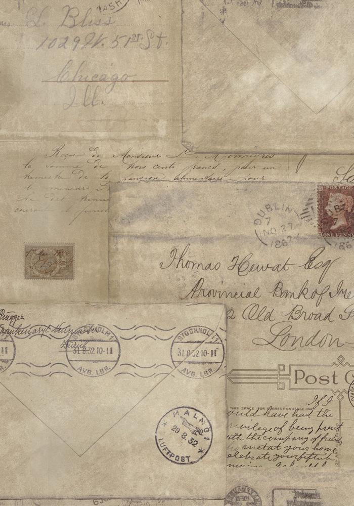 vintage letters postcards photographs - photo #11