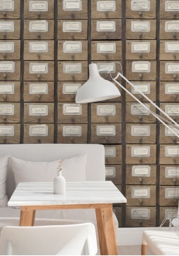 Apothecary Neutral Wallpaper by Mind The Gap