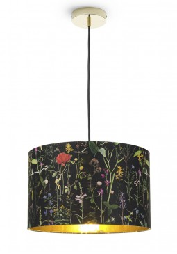Aquafleur Anthracite Pendant Lamp by Mind The Gap