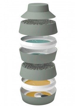 Babel Eat Stackable Plates and Dishes