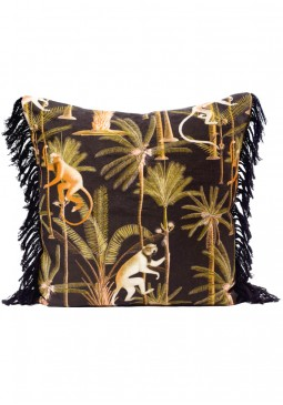 Barbados Anthracite Cushion by Mind The Gap