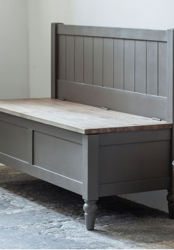 DCUK Cookham Hall Bench Grey