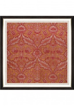 Ancient Brocade Framed Art by Mind The Gap