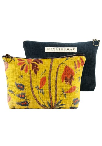 Gypsy Ochre Wash Bag by Mind The Gap