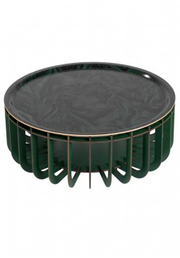 Medusa XL Outdoor Coffee Table with Removable Tray - ibride
