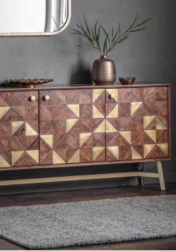 DCUK Tate 3 Door Sideboard