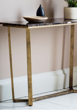DCUK Emporor Console Table - Marble