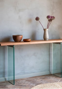 DCUK Ferndale Console Table - Grey