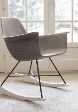 Hauteville Rocking Chair - Lyon Beton Concrete