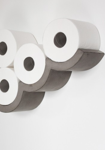 Cloud Toilet Paper Holder Large - Lyon Beton Concrete