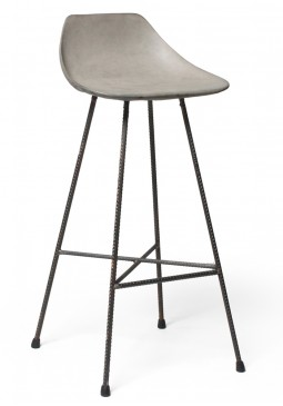Hauteville Bar Chair - Lyon Beton Concrete