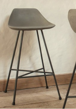 Hauteville Counter Chair - Lyon Beton Concrete