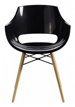 Muubs Opal Wox Black Dining Chairs
