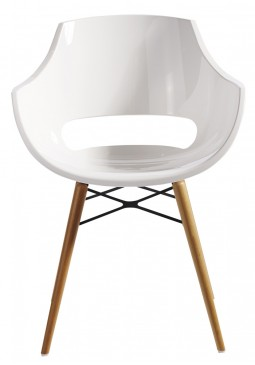 Muubs Opal Wox White Dining Chairs