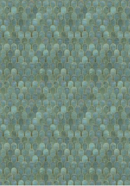 BGR-04 Nizwa Jade Metallic Wallpaper by Bethan Gray
