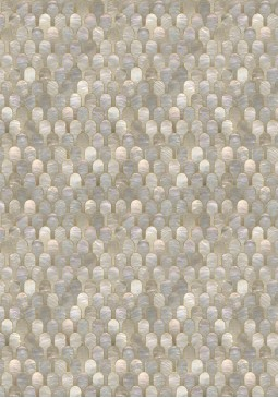 BGR-06 Nizwa Natural Metallic Wallpaper by Bethan Gray