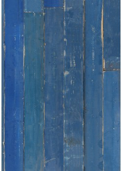PHM-36 Blue Scrapwood Material Wallpaper by Piet Hein Eek