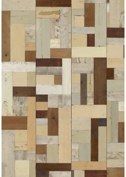 PHE-06 Scrapwood Wallpaper by Piet Hein Eek