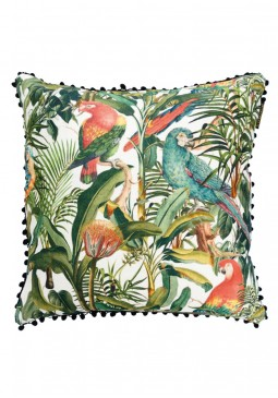 Parrots of Brasil Cushion by Mind The Gap