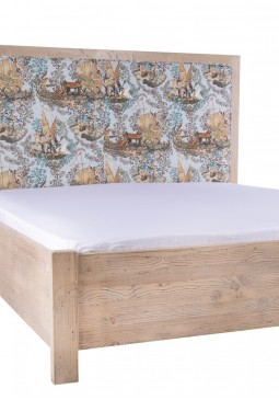 Antal Distressed Pinewood Bed Frame by Mind The Gap