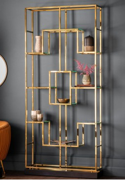 DCUK Pippard Open Display Unit - Champagne