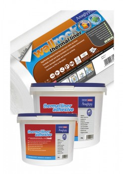 Wallrock Thermal Liner & Thermal Liner Adhesive Multipacks