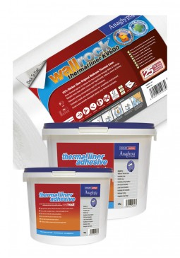 Wallrock Thermal Liner KV600 & Thermal Liner Adhesive Packs