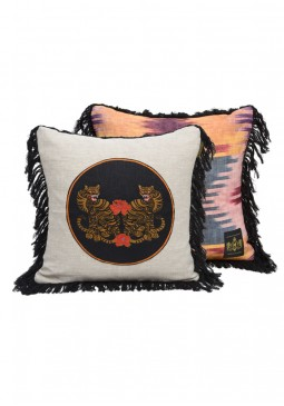 Bengal Tiger Cushion by Mind The Gap